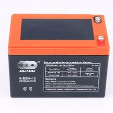 New 6DZM12 12V 15AH Battery for Electric/Mobility Scooters E- bikes Mowers 48V