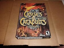 Castles & Catapults - Let The Siege Begin - (PC, 2003)-NEW