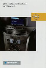 Prospekt Opel Blaupunkt Infotainment 1/05 2005 Autoradio HiFi CD 30 CC 20 R10