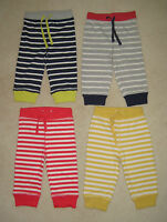 New Mini Baby Boden Essential Jersey Trousers Joggers 0-3 years Stripes