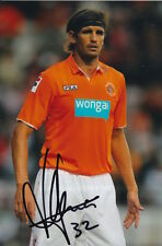 BLACKPOOL HAND SIGNED MIGUEL LLERA 6X4 PHOTO.