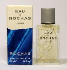 Eau de toilette eau Rochas homme  10 ml avec boîte, mini parfum