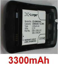 Black Case+ Battery 3300mAh type EB-L1G6LLUC EB-L1G6LVA For SAMSUNG Galaxy S3