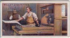 William Caxton English Printer The Canterbury Tales 100+ Y/O Trade Ad Card