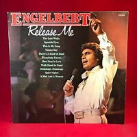 ENGELBERT HUMPERDINCK Release Me 1981 UK Vinyl LP EXCELLENT CONDITION