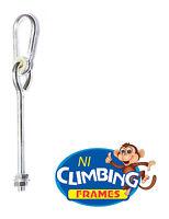'o' type swing hook galvanised steel post Swing set Climbing M12 length 280mm