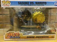 More details for funko pop animation naruto - naruto vs. sasuke vinyl figure gamestop 732 rare