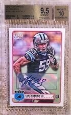 2012 TOPPS MAGIC AUTO LUKE KUECHLY RC BGS 9.5/10 CARDREGISTRY