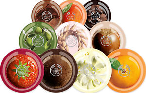 The Body Shop ~ Body Butter Range Moisturising Body Cream Smooth Skin 200ml/50ml