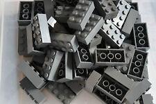 LEGO DARK GREY  BRICKS 2 x 4 No 3001 pak of 70 CITY, STAR WARS, FRIENDS, MOVIE