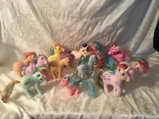 Vintage Lot Of 12 My Little Pony's Hong Kong '82 & '83