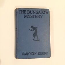 The Bungalow Mystery 1946 Nancy Drew Limited Edition Blue Carolyn Keen #3
