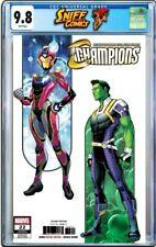 Champions #22 CGC 9.8 2nd Print Riri Williams Marvel Comics Ironheart