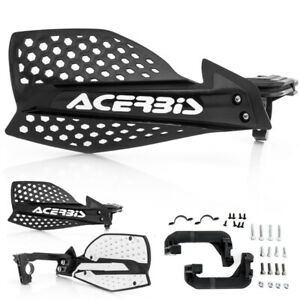 ACERBIS X ULTIMATE HANDGUARDS BLACK WHITE MOTOCROSS MX ENDURO CHEAP OFF ROAD