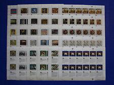 United Nations: 1989 - 1993 Human Rights MNH 30 Sheet Set