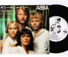 "ABBA Gimme! Gimme! Gimme! JAPAN PROMO WHITE 7"" SINGLE w/PS DSP-131"