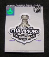Official 2012 Stanley Cup Final Finals Champs Champions Patch Los Angeles Kings