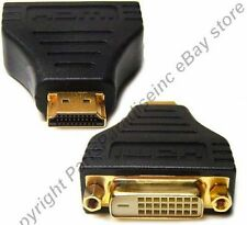 Lot10 HDMI Male~DVI Female cable/cord Adapter HDTV/TV/LED/LCD/DVR/DVD/PC 1080p