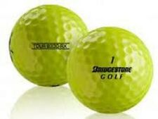50 AAA+ BRIDGESTONE B330-RX YELLOW USED GOLF BALLS + FREE TEES