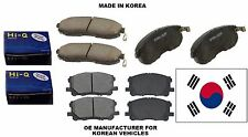 Fits:Hyundai Santa Fe 2010-2012 Front & Rear Sangsin HI-Q Premium Ceramic Pads