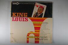 LOUIS ARMSTRONG King Louis Selected Favorites JAZZ LP SEALED Decca