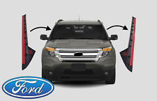 Left & Right Side Outer Trim Pillar Molding for 2011-19 Ford Explorer Windshield