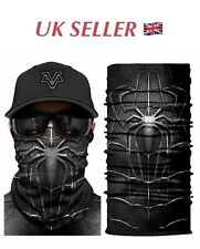 Unisex Face Snood Balaclava Face Covering Neck Warmer *SPIDER*