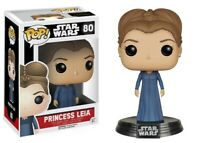 Star Wars:The Force Awakens Princess Leia Funko Pop Action figure Limited New