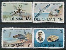 1979 ISLE OF MAN NATURAL HISTORY MUSEUM SET OF 4 FINE MINT MNH/MUH
