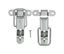 Steel Zinc Plated Lockable Trunk Tool Box Draw Hasp Latch Catches