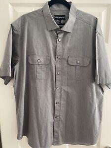 Fabulous Mens Autograph  M&S Grey Shirt Size XXL