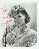 Mary Martin Autographed 8X10 Vintage Photo Inscribed Personalized JSA FF06375