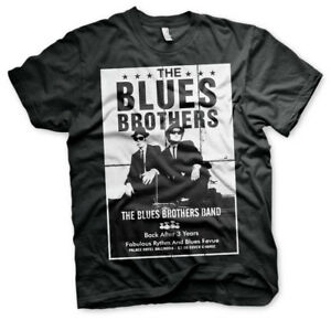 Officially Licensed The Blues Brothers Poster Men's T-Shirt S-XXL Sizes