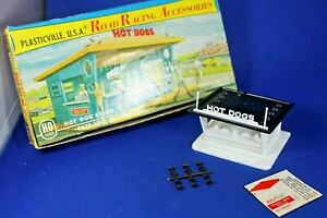 HO Plasticville #2675-100 Hot Dog Stand - Road Race Accessories - Ex+++++