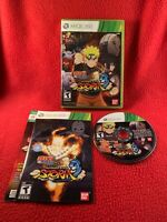 Naruto Shippuden Ultimate Ninja Storm 3 Xbox 360 Complete CIB USA Cleaned Works