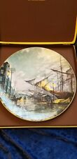 Royal Doulton Sailing With The Tide John Stobart Collector Plate