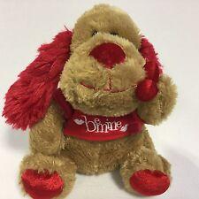 Be Mine Puppy Dog Valentine's Day Stuffed Plush Red Tee Shirt Toy Dog Walmart