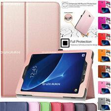 "Flip Folio Leather Case Cover Fits Samsung Galaxy Tab A6 10.1"" SM-T580 SM-T585"