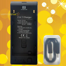 Two-Way 2 IN 1 Portable Charger Sony NP-F970 F770 F550 FM POWER BANK 5V 1A Phone