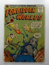ACG Comics FORBIDDEN WORLDS (September 1956) #46 SILVER AGE GD- (1.8) Ships FREE