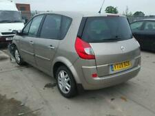 2009 Renault Scenic 2 rear tailgate in metallic gold, tinted glass