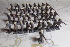 AIRFIX HO SCALE Plastic Civil War 41 CONFEDERATE SOLDIERS STANDING SHOOTING!!!