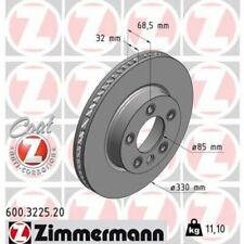 1x Bremsscheibe ZIMMERMANN 600.3225.20