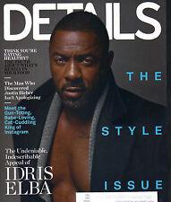 IDRIS ELBA Details Magazine 9/14 STYLE ISSUE