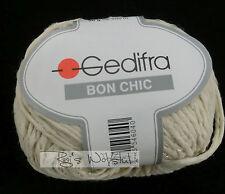 (89 €/kg): 450 Gramm Gedifra  BON CHIC mit Glanzfaden, Fb.1504 natur #1362