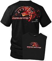Wicked Metal Corvette shirt - Redline - C5 Corvette