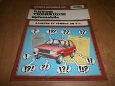 revue technique automobile: acheter et vendre un V.O. (69)