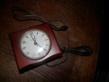 Vintage Seth Thomas Beverly Model Ss12J Electric Alarm Clock For Parts or Repair