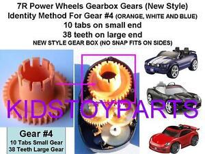 Power Wheels Final Outer Drive Gear #4 7R Corvette Mustang Porsche Cars & Trucks