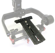 Camera Mounting Plate Extension Plate fr DJI Ronin-M Gimbal FS100 FS700 BMCC RED